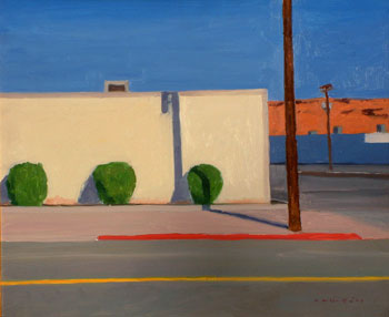 20x24 - Oil On Board - First South St.George - $2,650