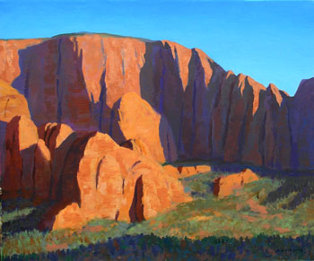 20x24 - Oil On Canvas - Fingers Of Kolob - $2,650