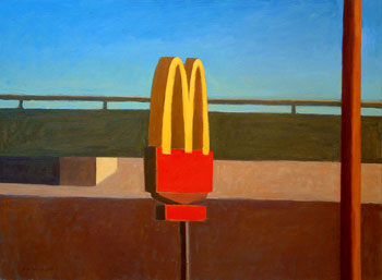 30x40 - Oil On Canvas - McDonalds - $3,900